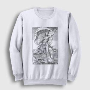 Tanrıça Afrodit Sweatshirt beyaz