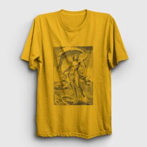 Tanrıça Afrodit Tişört sarı