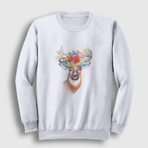 The Beauty Of Nature Sweatshirt beyaz