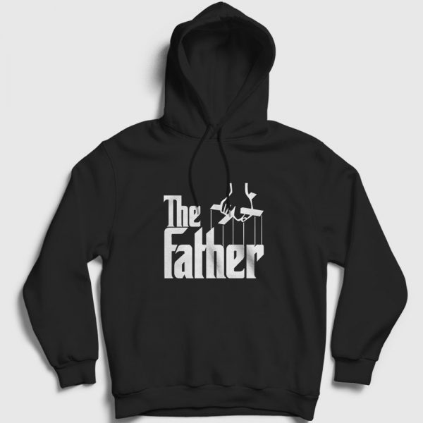 The Father Kapşonlu Sweatshirt siyah