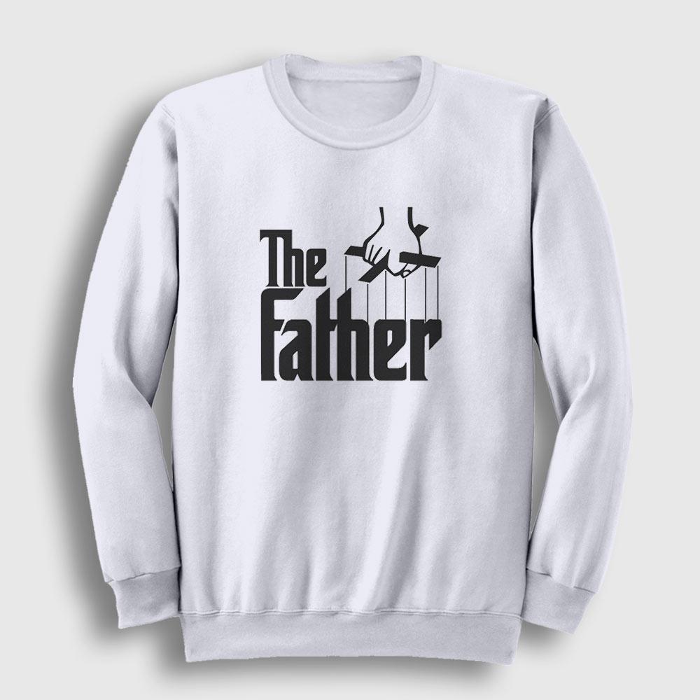 The Father Sweatshirt beyaz