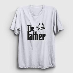 The Father Tişört beyaz