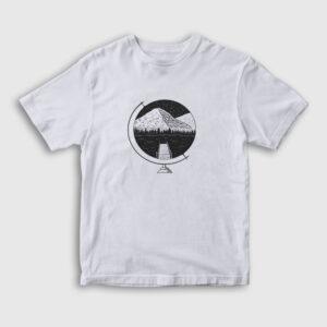 The Globe Çocuk Tişört beyaz