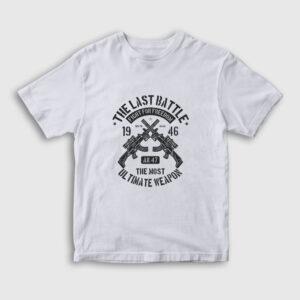The Last Battle Çocuk Tişört beyaz