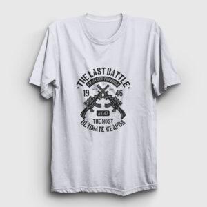 The Last Battle Tişört beyaz