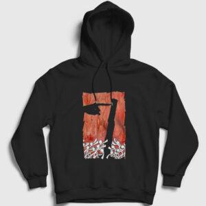 The Touch Kapşonlu Sweatshirt siyah