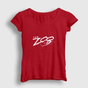 The Zoo Kadın Tişört kırmızı