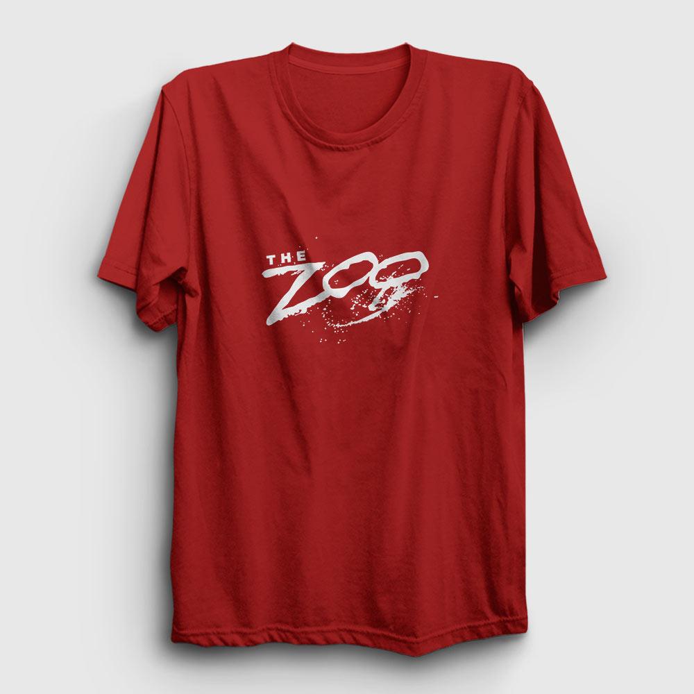 the zoo tişört kırmızı