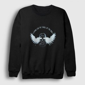 Thrill of the Ride Sweatshirt siyah
