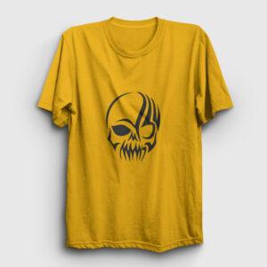 Tribal Kurukafa Tişört sarı