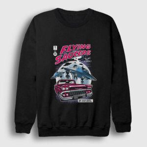 Uçan Daireler Sweatshirt siyah