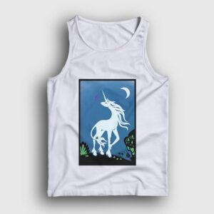 Unicorn Tarot Atlet beyaz