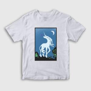 Unicorn Tarot Çocuk Tişört beyaz