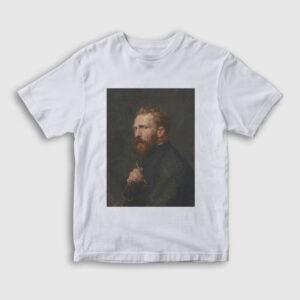 Van Gogh Çocuk Tişört beyaz