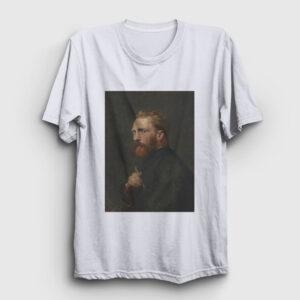Van Gogh Tişört beyaz