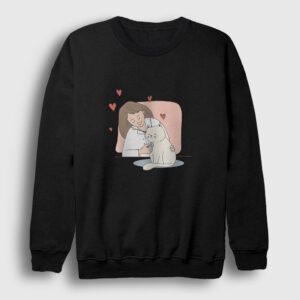Veteriner Sweatshirt siyah