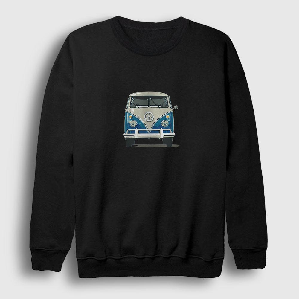 Volkswagen Type 2 Sweatshirt siyah