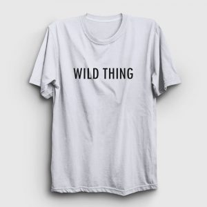 Wild Thing Tişört beyaz