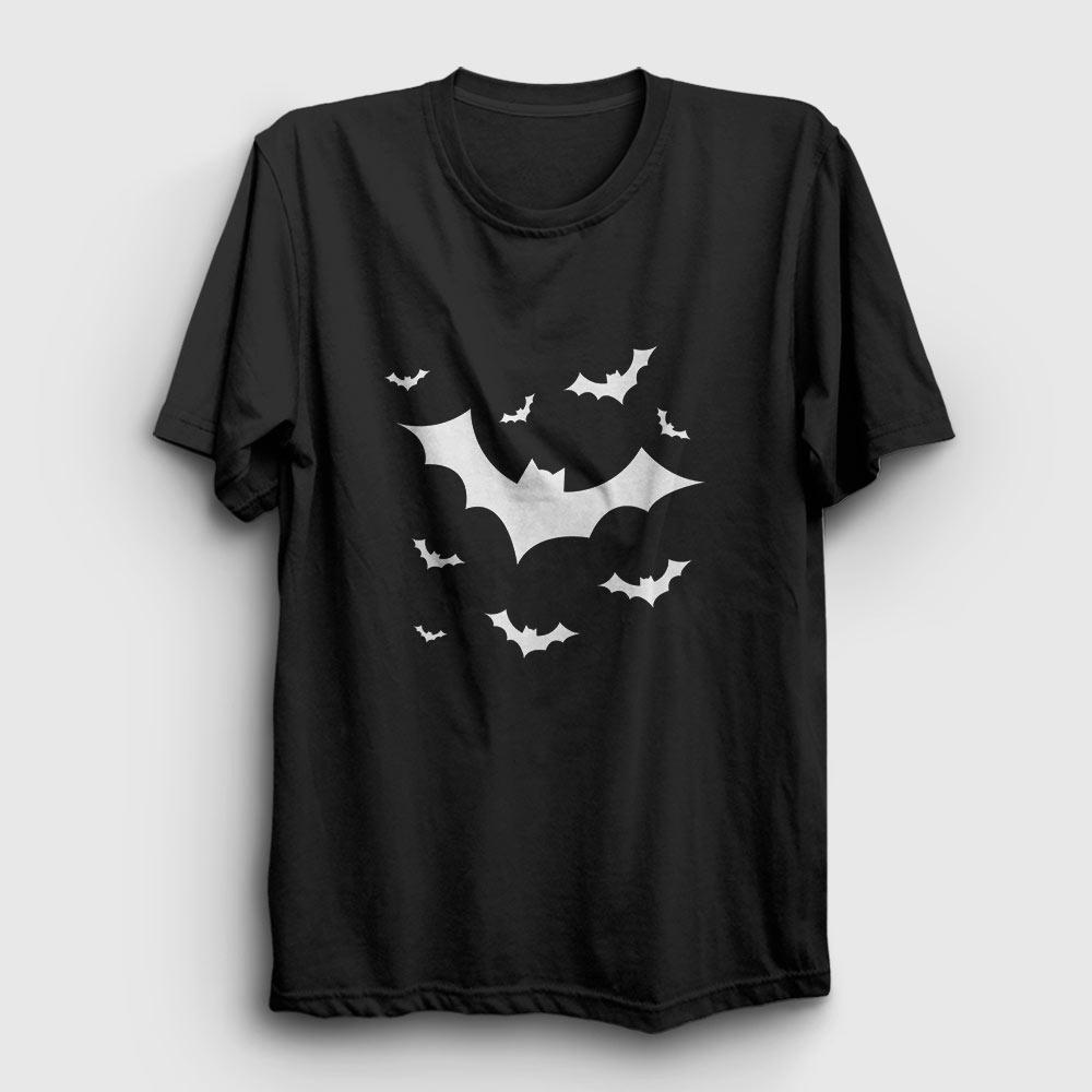 yarasalar tişört siyah