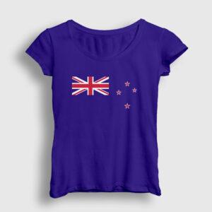 Yeni Zelanda Kadın Tişört lacivert
