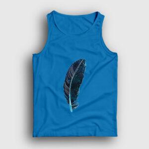 Yeşil Kuş Tüyü Atlet açık mavi