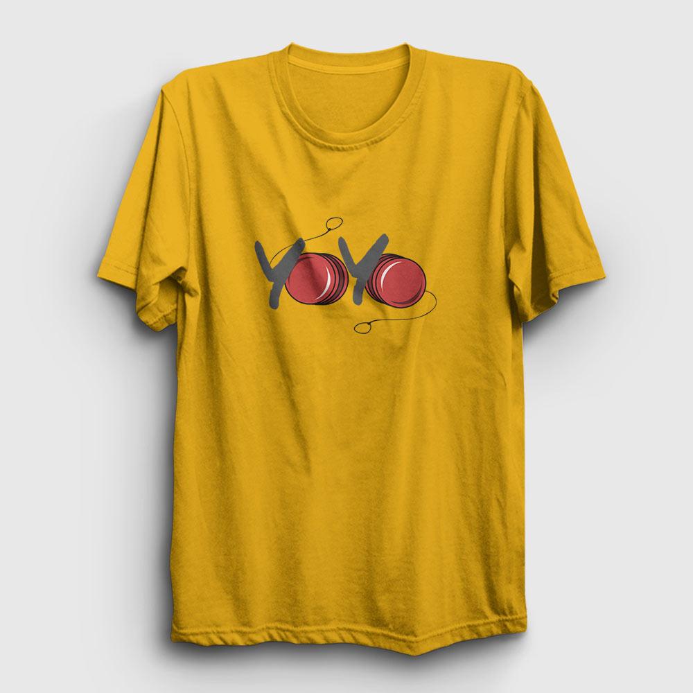 yoyo tişört sarı