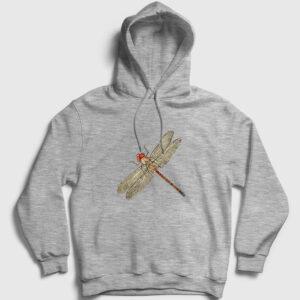 Yusufçuk Kapşonlu Sweatshirt gri kırçıllı