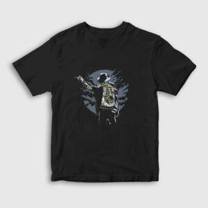 Zombie Pop Çocuk Tişört siyah