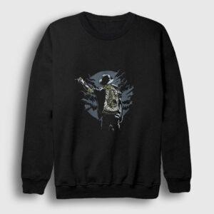 Zombie Pop Sweatshirt siyah